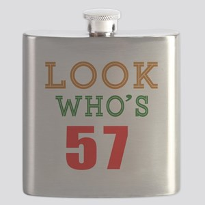 Look Who's 57 Flask