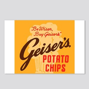 Geiser's Potato Chips Postcards (Package of 8)