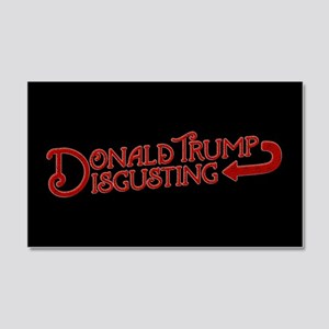 Donald Trump is Disgusting Wall Decal