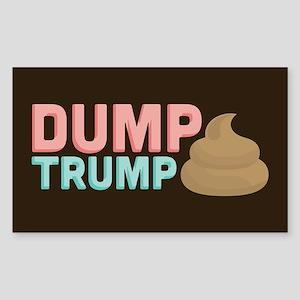 Poo Dump Trump Sticker