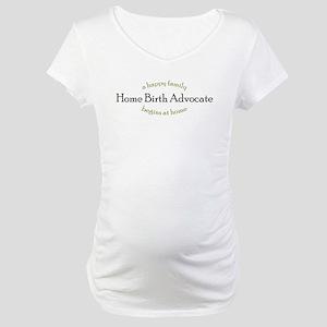 3-homebirth Maternity T-Shirt
