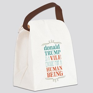 Trump is Vile Canvas Lunch Bag