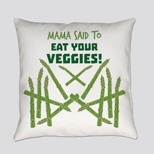 Eat Your Veggies Everyday Pillow
