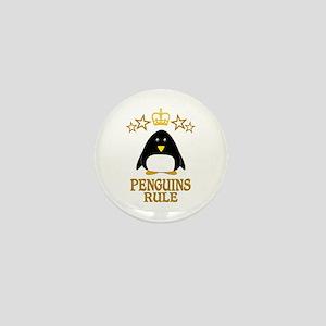 Penguins Rule Mini Button
