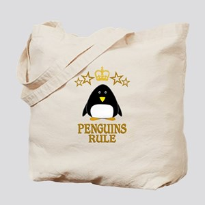 Penguins Rule Tote Bag