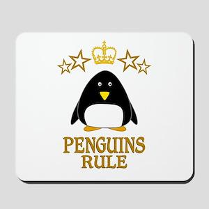 Penguins Rule Mousepad