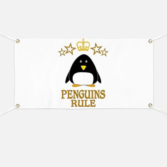 Penguins Rule Banner