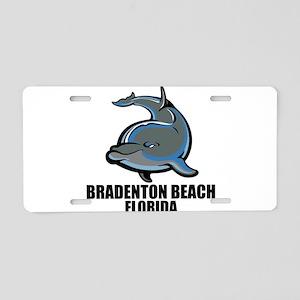 Bradenton Beach, Florida Aluminum License Plate