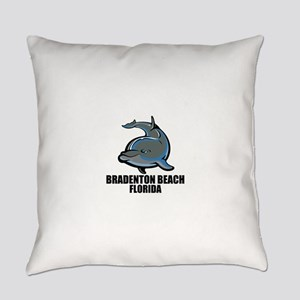 Bradenton Beach, Florida Everyday Pillow