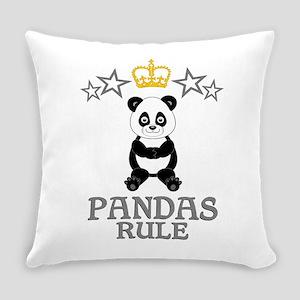 Pandas Rule Everyday Pillow