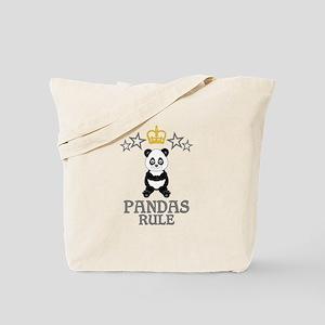 Pandas Rule Tote Bag