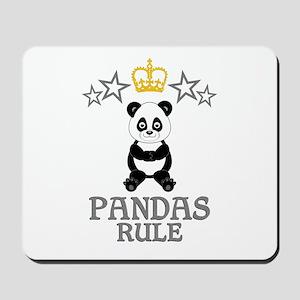 Pandas Rule Mousepad