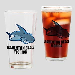 Bradenton Beach, Florida Drinking Glass