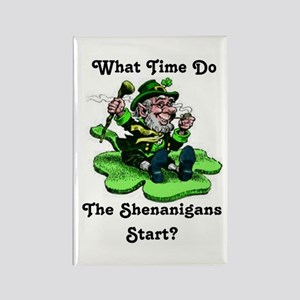 What Time Do The Shenanigans Start? Magnets
