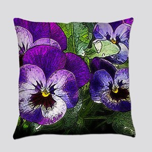Pansy20160301 Everyday Pillow