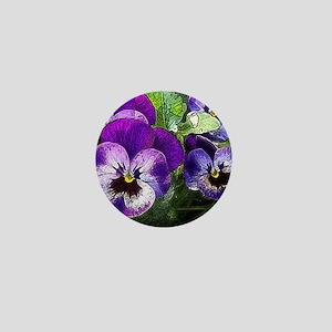 Pansy20160301 Mini Button