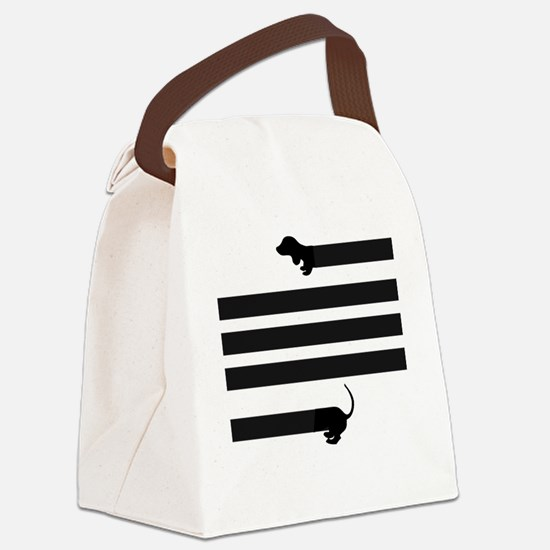 Cute Hot dogs Canvas Lunch Bag