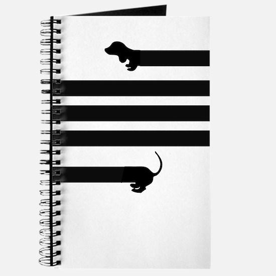 dachshund sausage dog Journal