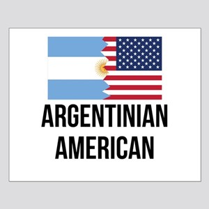 Argentinian American Flag Posters