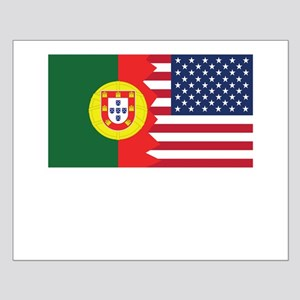 Portuguese American Flag Posters