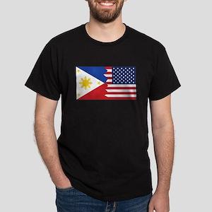 Filipino American Flag T-Shirt