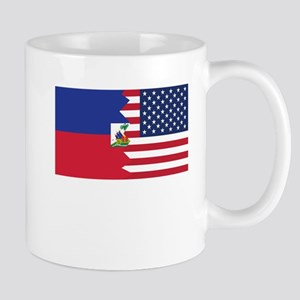Haitian American Flag Mugs