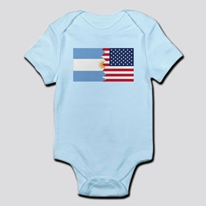 Argentinian American Flag Body Suit