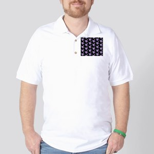 Lotus Flower Golf Shirt