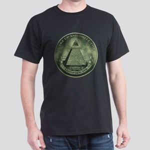 Smell The Conspiracies Dark T-Shirt