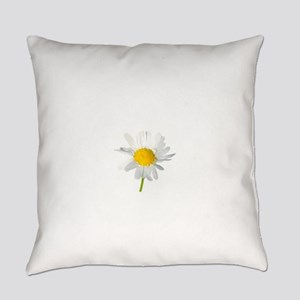 daisy with dew drops Everyday Pillow