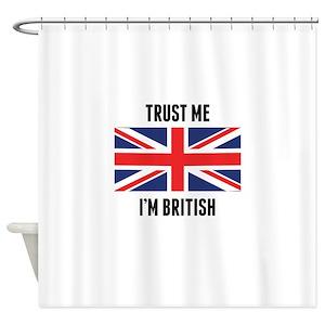 British Shower Curtains