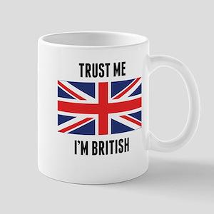 Trust Me I'm British Mugs