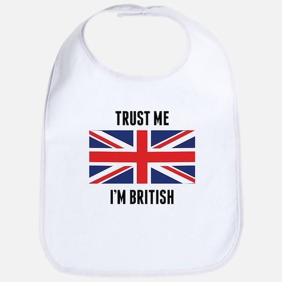 Trust Me I'm British Bib