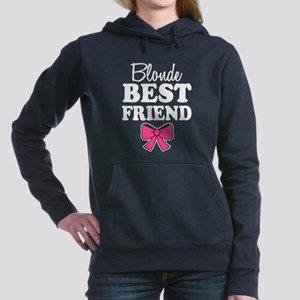 Blonde Best Friend funny Women's Hooded Sweatshirt