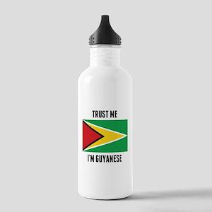 Trust Me I'm Guyanese Water Bottle