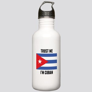 Trust Me I'm Cuban Water Bottle