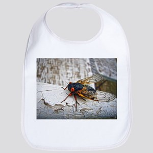 Red Eyed Cicada Bib