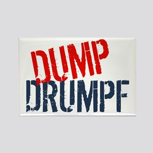 Dump Drumpf Rectangle Magnet