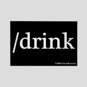 /drink Rectangle Magnet