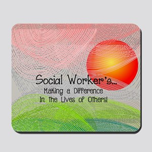 Social Worker's Month Mousepad
