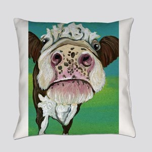 Cow Everyday Pillow