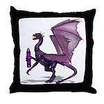 Ready to Purple Throw Pillow