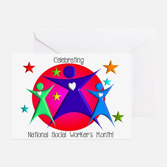 Social Worker's Month Greeting Cards