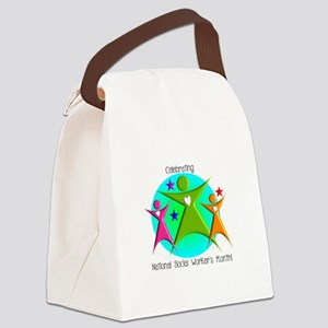 Social Worker's Month Canvas Lunch Bag