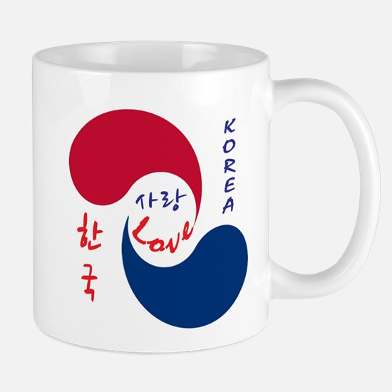 Korea Love Mugs