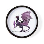 Ready To Purple Wall Clock