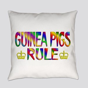 Guinea Pigs Rule Everyday Pillow