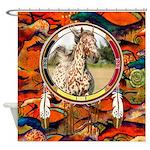 Appaloosa Horse Shield Shower Curtain
