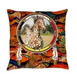 Appaloosa Horse Shield Everyday Pillow