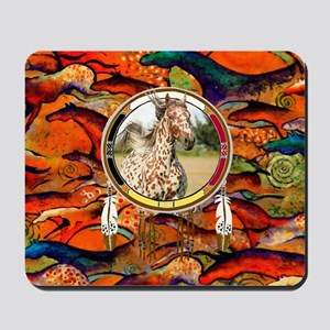 Appaloosa Horse Shield Mousepad